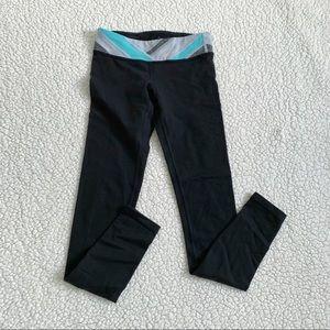 Ivivva Girls Reversible Black Leggings Size 10